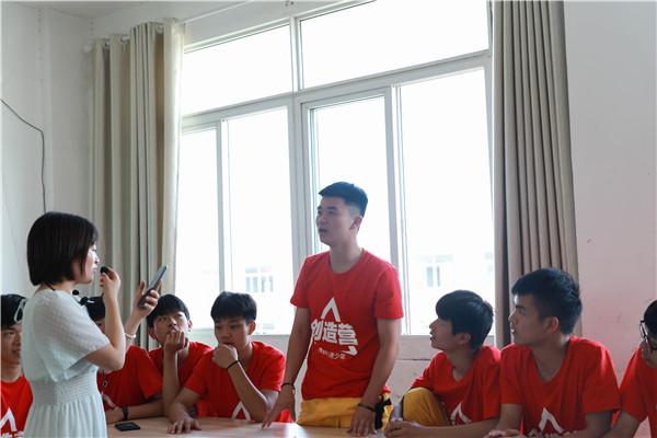 是谁能代表江西万通赴韩游学?是他!是17岁的他!