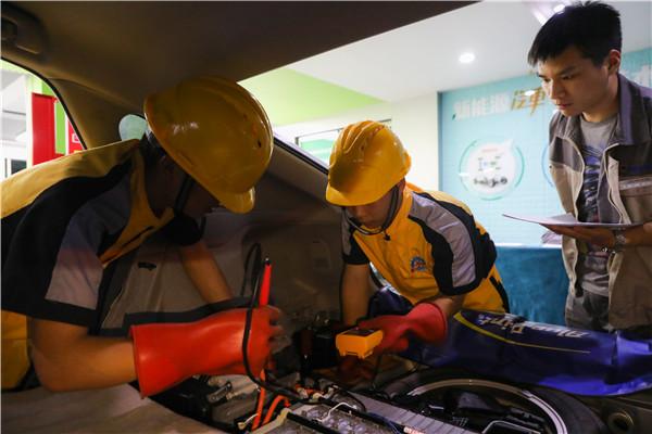 2021初高中生热门专业推荐:汽车智能维修与新能源技术工程师